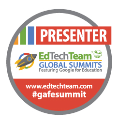 Ed Tech Team Google For Education Summit Presenter