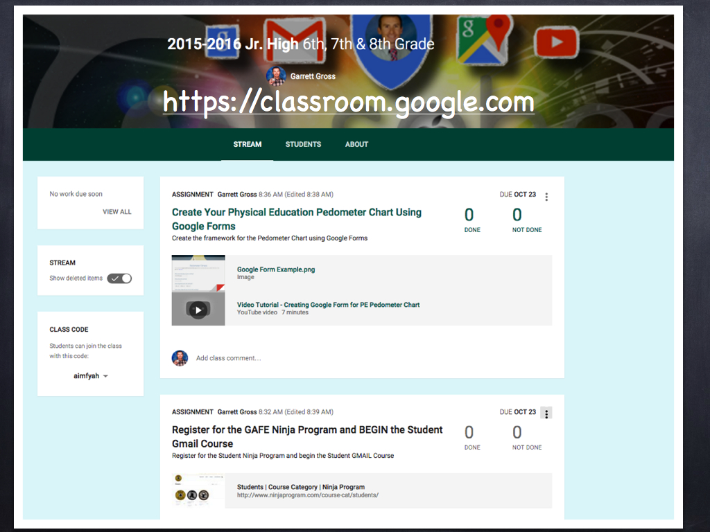 Google Classroom Next Steps for Intermediate Users