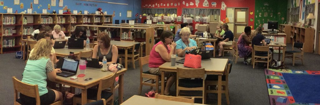 Teachers attend a 5-week training course to prepare them for deployment of chromebooks covering Google for Education Suite.