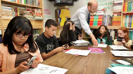 BYOD – Using phones PRODUCTIVELY in class