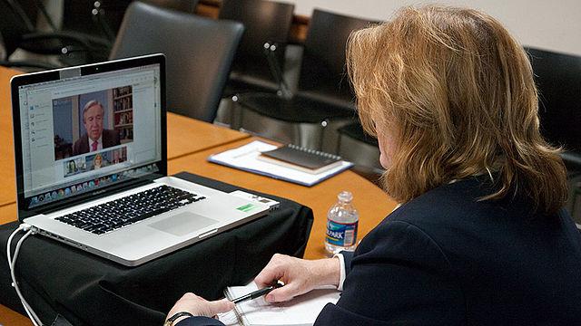Use Google Hangouts to enable virtual coaching