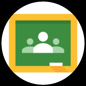 Google Classroom icon.